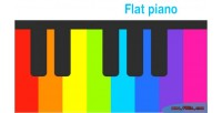 Piano flat html5 game basic