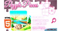 Pieces puzzle html5 capx game