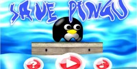 Pingu save html5 ios android capx game