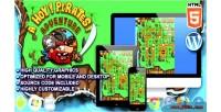 Pirates ahoy adventure game arcade html5