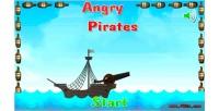 Pirates angry game mobile html5