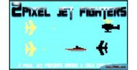 Pixel 2 jet fighters