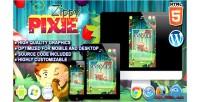 Pixie zippy game puzzle html5