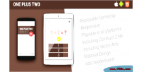 Plus one two game mobile html5