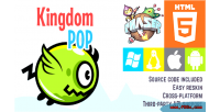 Pop kingdom phaser game html5
