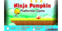 Pumpkin ninja platformer game