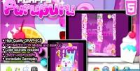 Purupuru flappy html5 game
