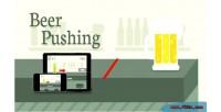 Pushing beer html5 game