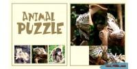Puzzle animal