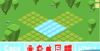 Puzzle isometric construct game puzzle 2