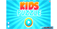 Puzzle kids game educational html5