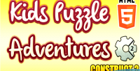 Puzzle kids game game educational html5