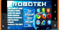 Puzzle robotex 100 game complete