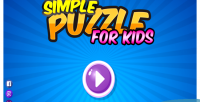 Puzzle simple for kids