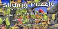 Puzzle sliding