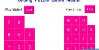 Puzzle sliding html5 game