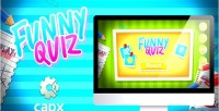 Quiz funny html5 capx with game