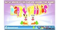 Rabbits happy