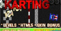 Racing karting capx html5