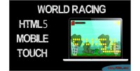 Racing world game mobile html5