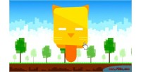 Reaction cat game mobile html5