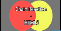 Reaction chain html5