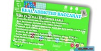 Real baccarat with excellent statistics feature facebook iap included admod