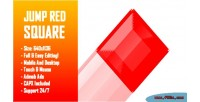 Red jump square html5 game version mobile construct capx 2