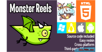 Reels monster phaser game html5