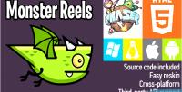 Reels monster phaser game html5