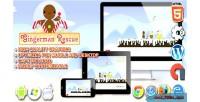 Rescue gingerman html5 game platform construct
