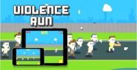 Run violence html5 game