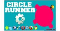Runner circle html5 game