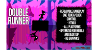 Runner double html5 game