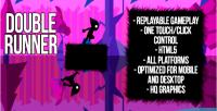 Runner double html5 game