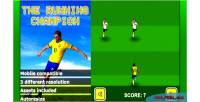 Running the html5 game champion