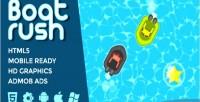 Rush boat game racing water