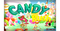 Rush candy game mobile html5