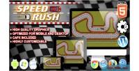 Rush speed html5 game racing construct