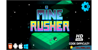 Rusher mine html5 game