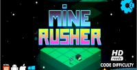 Rusher mine html5 game