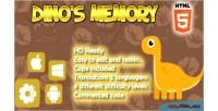 S dino memory html5 capx game