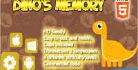 S dino memory html5 capx game