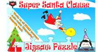 Santa super puzzle jigsaw clause