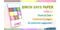 Says simon paper