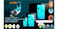 Shark fat html5 game survival construct