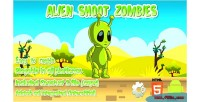 Shoot alien zombies