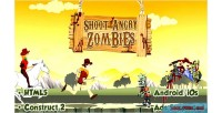 Shoot angry zombies html5 capx android