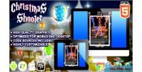 Shooter christmas html5 game