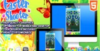 Shooter easter html5 game